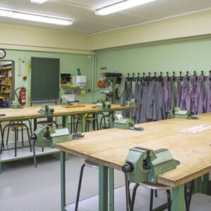 Werkstatt im Fachbereich WAT